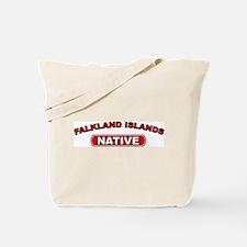 Falkland Islands Native Tote Bag