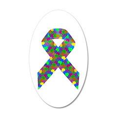 Puzzle (Autism) Awareness Ri Wall Decal