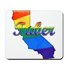 Tuber, California. Gay Pride Mousepad