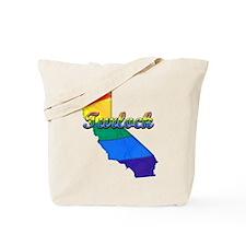 Turlock, California. Gay Pride Tote Bag