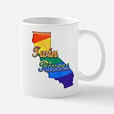Twin Rivers, California. Gay Pride Mug