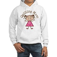 Quilting Mom Gift Hoodie