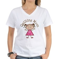 Quilting Mom Gift Shirt