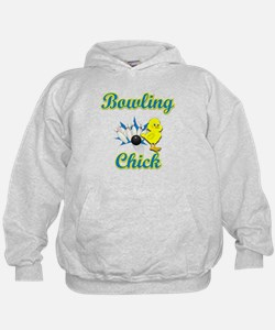 Bowling Chick #2 Hoodie