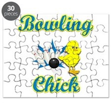 Bowling Chick #2 Puzzle