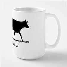Ski Iowa Large Mug