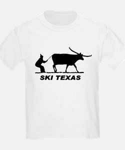 Ski Texas Kids T-Shirt