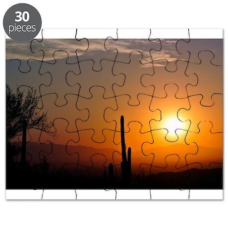 Desert Sunrise Puzzle