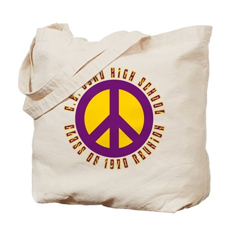 C.E. Byrd Class of 1970 Peace Tote Bag