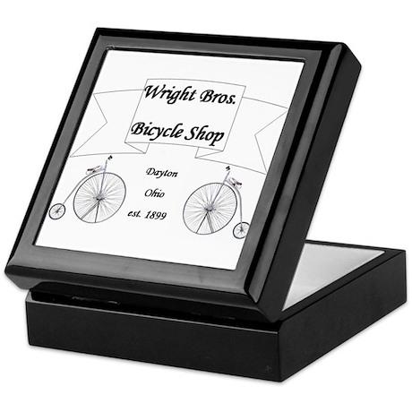 Wright Bros. Cycle Shoppe Keepsake Box