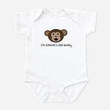 Someone's Monkey Infant Bodysuit