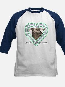 Owl love you forever - Girls Baseball Jersey