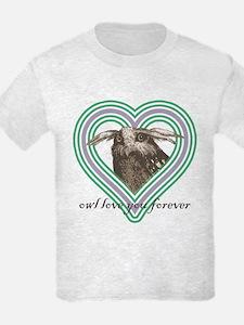 Owl love you forever - Girls Light T-Shirt