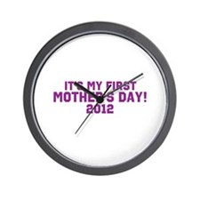 First Mothers Day Wall Clock