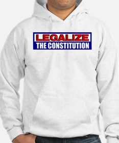 """Legalize The Constitution"" Hoodie"