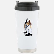 Wire Fox Terrier Travel Mug
