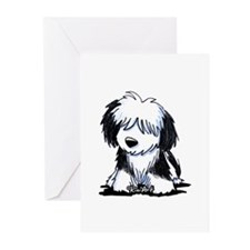 Black & White Havanese Greeting Cards (Pk of 10)
