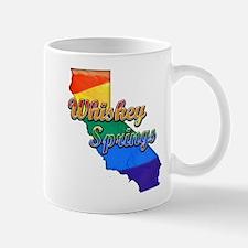 Whiskey Springs, California. Gay Pride Mug