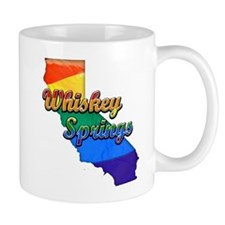 Whiskey Springs, California. Gay Pride Mug