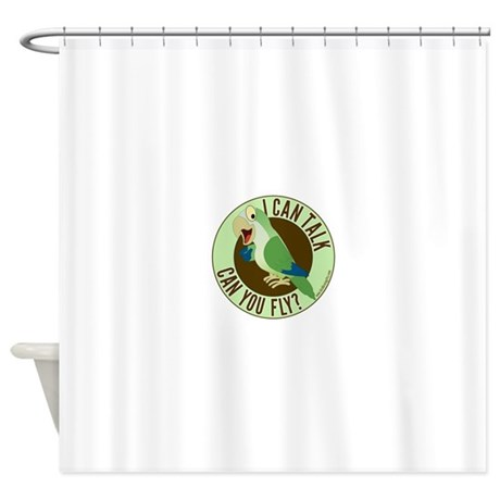 ICT,CYF Quaker Parrot Shower Curtain