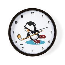 I Like Ice Hockey Wall Clock