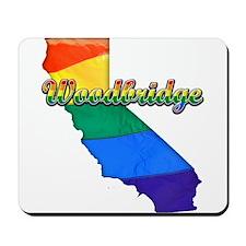 Woodbridge, California. Gay Pride Mousepad