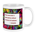 Genius and Madness Mug