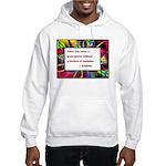 Genius and Madness Hooded Sweatshirt
