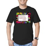 Genius and Madness Men's Fitted T-Shirt (dark)