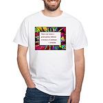 Genius and Madness White T-Shirt