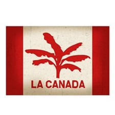 La Canada Flag Postcards (Package of 8)