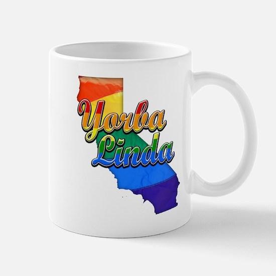 Yorba Linda, California. Gay Pride Mug