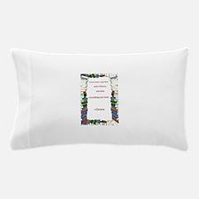 A Garden and A Library Pillow Case