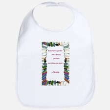 A Garden and A Library Bib