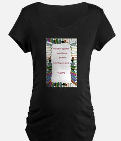 A Garden and A Library T-Shirt
