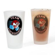 Unique Paintball Drinking Glass