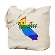 Yreka, California. Gay Pride Tote Bag