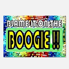 blame it on the boogie Postcards (Package of 8)