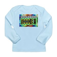 blame it on the boogie Long Sleeve Infant T-Shirt