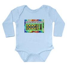 blame it on the boogie Long Sleeve Infant Bodysuit