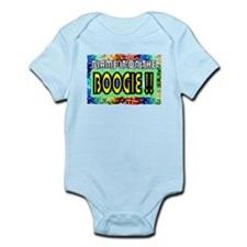 blame it on the boogie Infant Bodysuit