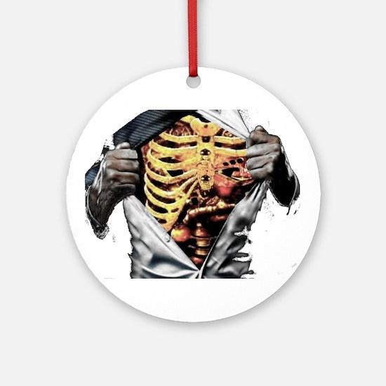 ribcage Ornament (Round)