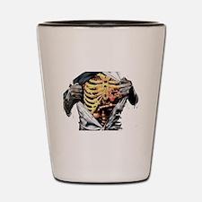 ribcage Shot Glass