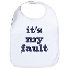 It's my fault Bib
