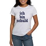 ich bin schuld Women's T-Shirt