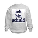 ich bin schuld Kids Sweatshirt