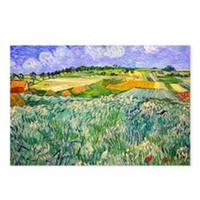 Van Gogh Plain Near Auvers Postcards (Package of 8