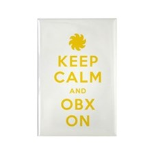 Keep Calm and OBX On Rectangle Magnet