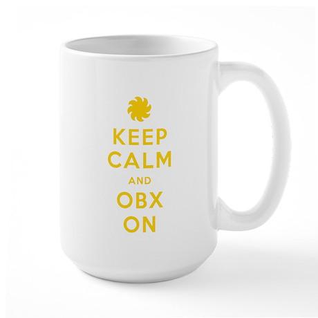 Keep Calm and OBX On Large Mug