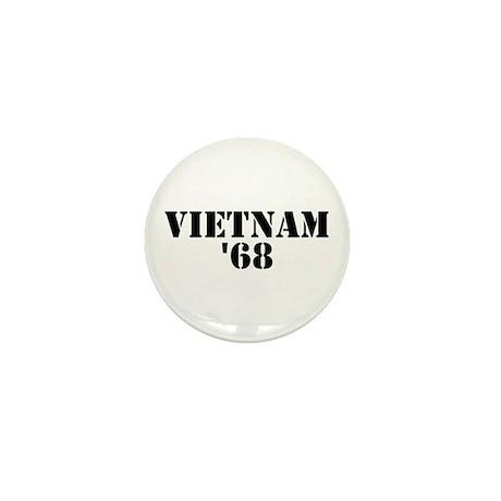 Vietnam 1968 Mini Button